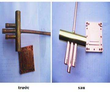Vật liệu đồng sau đánh bóng và chống gỉ, kháng oxy hóa