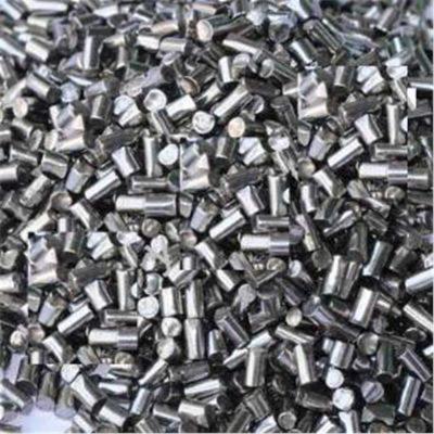 Bi thép hình trụ dùng để đánh bóng kim loại thép