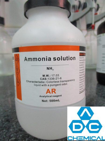 Amoniac: tính chất và ứng dụng