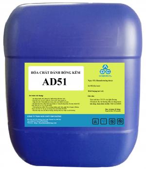 Hóa chất đánh bóng kẽm AD51