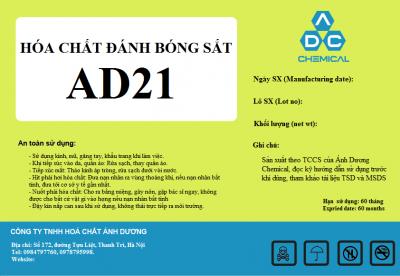 Dung dịch đánh bóng sắt AD21