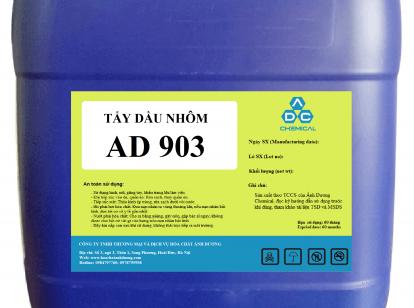 Tẩy dầu axit nhôm AD 903, sau đó cromat nhôm để sơn tĩnh điện