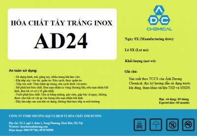 tẩy trắng inox AD24